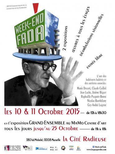 Week-End FADA, Cité Radieuse à Marseille, octobre 2015