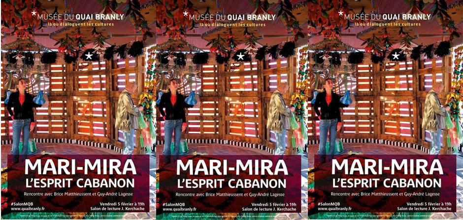 Présentation du livre Mari-Mira au Quay Branly à Paris